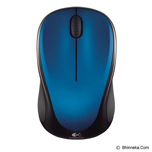 LOGITECH Wireless Mouse M235 [910-003392] - Blue - Mouse Basic